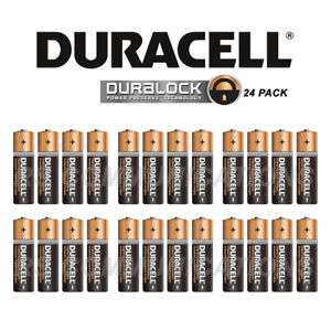 Duracell AA batteries (24-Pack) £8.99 rscommunications / Ebay