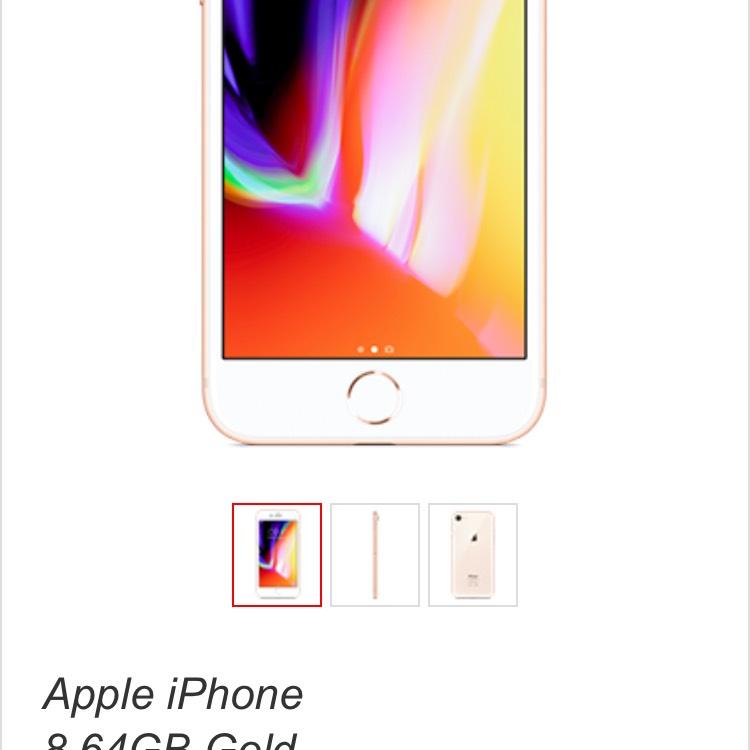 IPhone 8 64gb £38 p/m 5000 mins unlimited texts 36 months  £1,368 @ Virgin media
