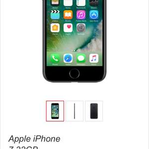 IPhone 7 32gb - 28p/m 40gb / 5000 minutes / unlimited texts / 36 months = £1,008 total @ Virgin Media