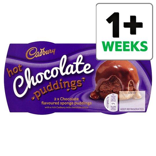 Cadbury 2 Hot Chocolate Sponge Puddings 2X 110G  TASTY - £1 @ Tesco
