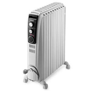 De'longhi TRD4 1025T Dragon 4 Oil Filled Radiator with Timer, 2.5 KW - £90 @ John Lewis