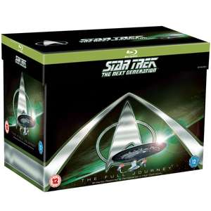 Star Trek: The Next Generation Complete Blu-ray £35.99 with Code @ Zavvi.com - Free Delivery