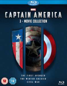 Captain America 1-3 Boxset Blu-ray £ 13.49 with Code @ Zavvi.com