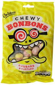 Bristows Rhubarb and Custard Chewy Bonbons 170 g (Pack of 12) £4.57 @ Amazon (Add On)