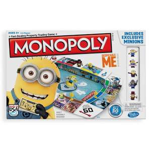 Despicable me 2 minions monopoly edition free c&c £10 @ The Works