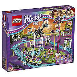 Lego Friends Amusement Park Roller Coaster - £63 + 1000 Bonus Clubcard Points @ Tesco Direct