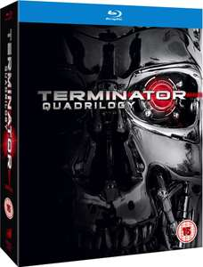 Terminator 1-4 Box Set Blu-ray   EXTRA 10% OFF - ADD XMASBOX10 @ Zavvi