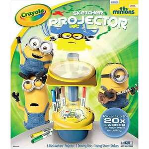 Crayola Minions sketcher projector £6.25 @ The Entertainer