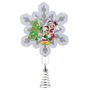 Disney tree topper £2.50 delivered @ giftgivingallwrappedup