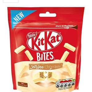 Nestle kit kat bites (white chocolate) 104g @ Tesco £1