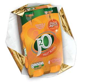 J2O Orange and Passionfruit 4Pk £1.50 @ Iceland