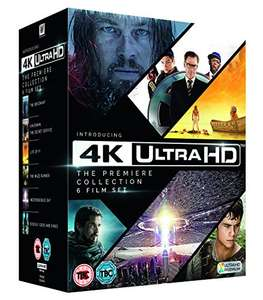 The Premiere UHD 6 Film Collection (The Revenant, Kingsman: The Secret Service, Life of Pi, The Maze Runner, Independence Day, Exodus: Gods and Kings) £26.99 Delivered @ Amazon