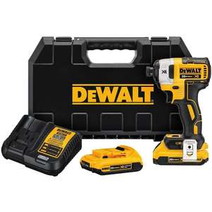 Dewalt DCF887D2 Impact Driver 18V XR Brushless Lithium-Ion (2 x 2Ah Batteries) £130.94 Del @ Toolstop  with code SAVE3NOW