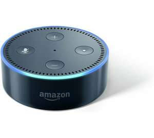 Amazon Echo Dot Multimedia Speaker £39.99 - Black @ Argos