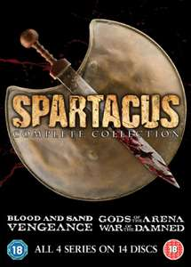 Spartacus - The Complete Collection DVD, £13.49 w/code from Zavvi