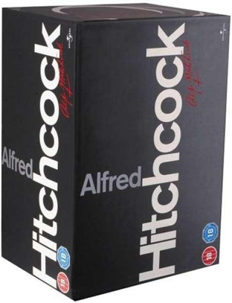 Hitchcock Complete Boxset DVD + FREE Delivery £16.19 w/code @ Zavvi