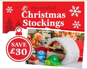 Pre filled Christmas stockings were £25 now £20 C+C (or +£2.95 Home Del) @ Hawkins Bazaar (new customer code in OP)