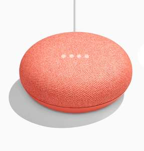 Google home mini (inc coral colour) £34 & Home £89 from Google store free delivery