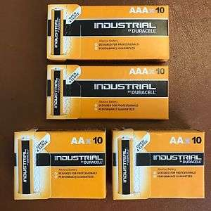 20 x AA and 20 x AAA Duracell Batteries £13.99 Del @ Ebay (sold by Premium247)