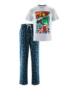Mens Marvel Pyjamas - Star Wars Mens Pyjamas - Minions Men Pyjamas - Avenue Ladies Gingerbread / Star Flannel Pyjamas -  £8.99 @ Aldi (free delivery - pre order)