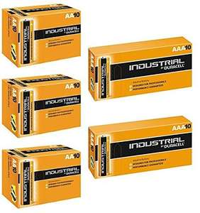 Duracell 20 x AAA and 30 x AA Industrial Battery Replaces Procell £14.99 Dispatched from and sold by Battery Warehouse - Amazon