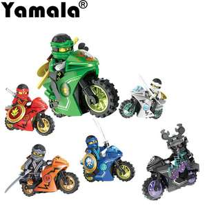[Yamala] 258A Hot Ninja Motorcycle Compatible legoingly Ninjagoed Building Blocks Bricks toys Kids Gift from £0.21@ AliExpress