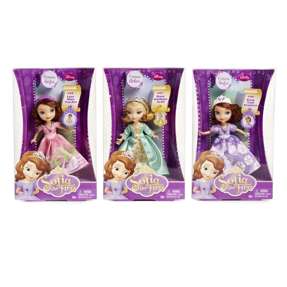 Genuine Mattel 5inch Sofia/ Amber doll £3.50 @ Wilko instore / online