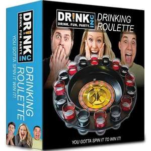 Drinking Roulette incl. 16 shot glasses £6.01 delivered Dispatched from and sold by Nubiru - Amazon