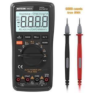 Meterk Digital Multimeter £14.99 (+£3.99 non prime) Sold by ECmall and Fulfilled by Amazon.