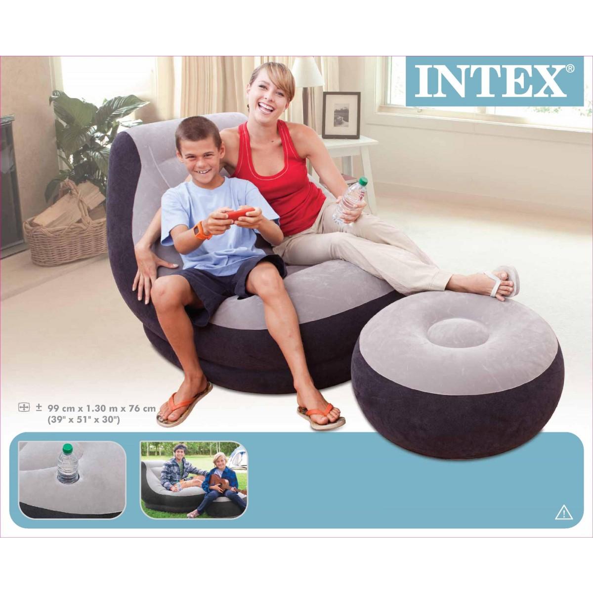 Intex Ultra Lounge Chair Set - £16.50 @ Tesco Direct