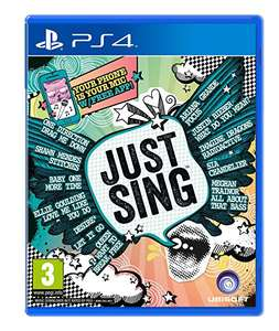 Just Sing PS4 Game £4.50