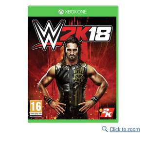 WWE 2k18 Xbox one and PS4 - £23.49 @ Argos