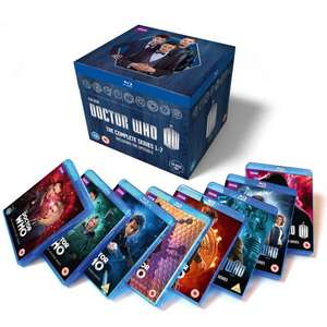 Doctor Who - Series 1-7 Blu-ray RRP £255 now £98.99 XMASBOX10 code @ Zavvi