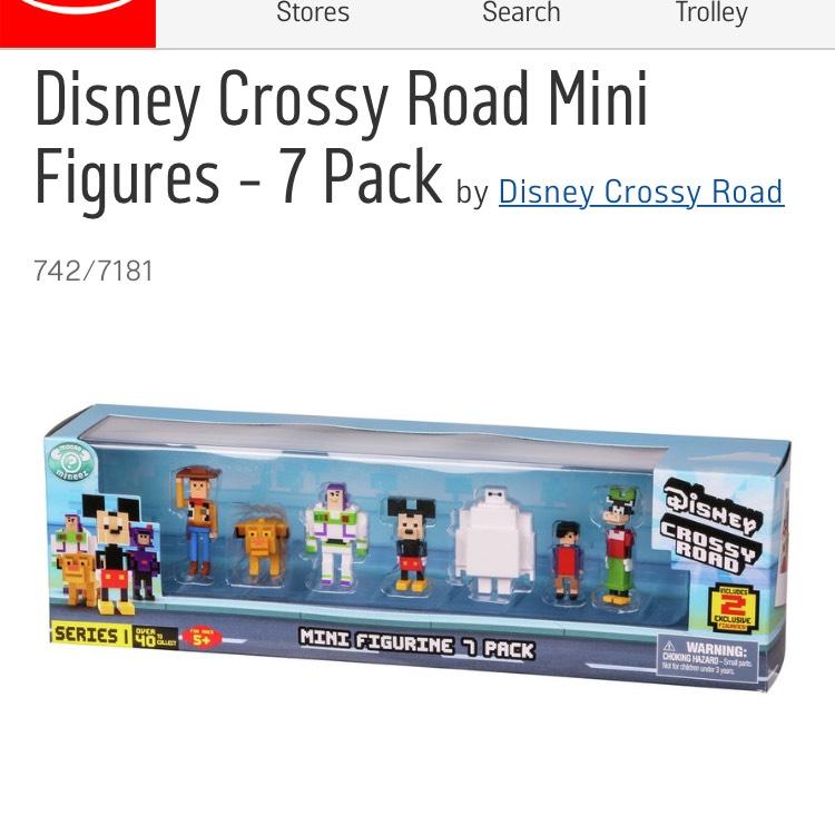 Disney Crossy Road Characters 7 Pack - Argos - £7.99