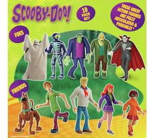 Scooby Doo! Friends and Foes 10 Figure Pack £8.99 @ Argos