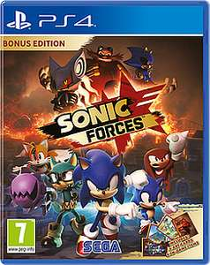 Sonic Forces Bonus Edition PS4 - Game £25.99