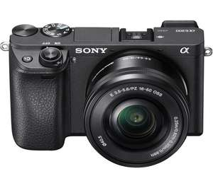 SONY a6300 Mirrorless Camera with 16-50 mm f/3.5-5.6 Lens - £799 (£667 with cashback) @ Currys