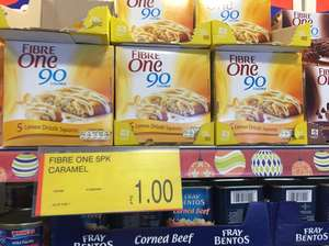 Fibre One pack of 5 for £1 at B&M