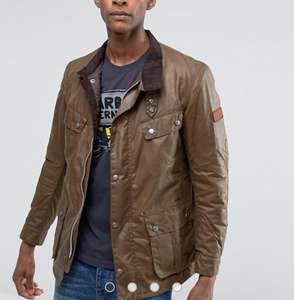 Barbour Duke Wax Jacket Bark was £199 now - £139 @ ASOS