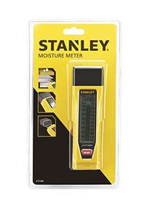 Stanley moisture meter £18 @ Amazon - Prime exclusive lowest ever price