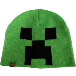 Minecraft Beanie Hat 7-10 years, 11-14 Years £4.99 @ Argos