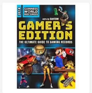 Guiness book of records gaming edition - £4 instore @ Tesco