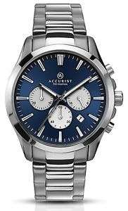 Accurist Men's Quartz Watch with Chronograph Display and Silver Stainless Steel Bracelet £64 @ Amazon