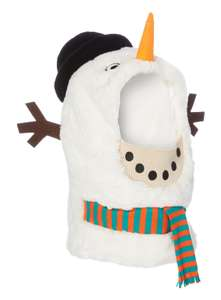 Womens Snowman Hood - Festive Headgear - £3.60 / £6.60 delivered @ Sainsburys TU Clothing online