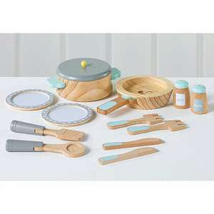 George Home Wooden Cooking Set £9.60 @ George