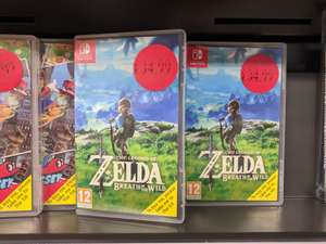 Legend of Zelda: Breath of the Wild - Nintendo Switch - £34.99 instore @ Sainsburys (found London -Dulwich)