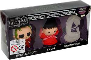 Beetlejuice: Beetlejuice - Lydia - Sand Worm Keyring Pendant Set - Limited Edition only £3.99 delivered @ EMP