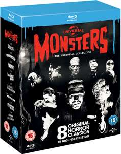 Universal Classic Monsters: The Essential Collection Blu-ray (8 disc Boxset) only £10.79 delivered @ Zavvi