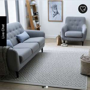 La Redoute Akar Geometric Rug £27.59 delivered with code 1220 (down from £59)