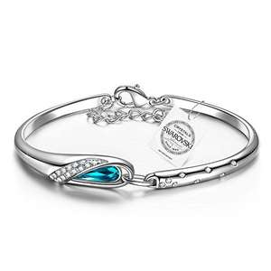 "Pauline & Morgen ""Cinderella"" Bracelet for Women with crystals from Swarovski - Sold by Pauline & Morgan x Kate Lynn Collection / FBA - £9.99 Prime (C&C non-Prime)"